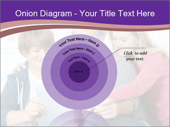 All Family Watching At Tablet Screen PowerPoint Template - Slide 61