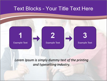 All Family Watching At Tablet Screen PowerPoint Templates - Slide 71
