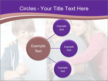 All Family Watching At Tablet Screen PowerPoint Templates - Slide 79