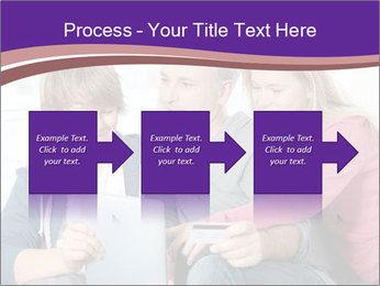 All Family Watching At Tablet Screen PowerPoint Template - Slide 88