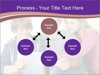 All Family Watching At Tablet Screen PowerPoint Template - Slide 91