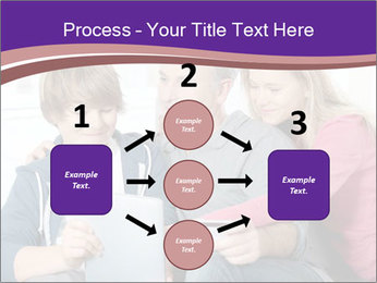 All Family Watching At Tablet Screen PowerPoint Template - Slide 92