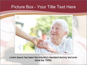 Grandmama Hugs Cat PowerPoint Template - Slide 15