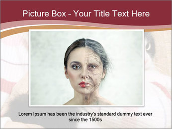 Grandmama Hugs Cat PowerPoint Template - Slide 16