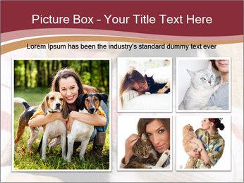 Grandmama Hugs Cat PowerPoint Template - Slide 19