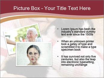 Grandmama Hugs Cat PowerPoint Template - Slide 20