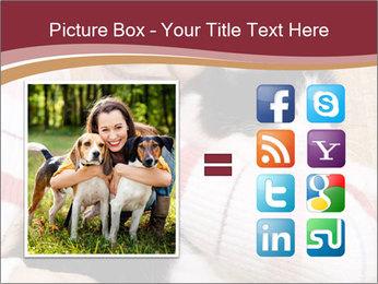 Grandmama Hugs Cat PowerPoint Template - Slide 21