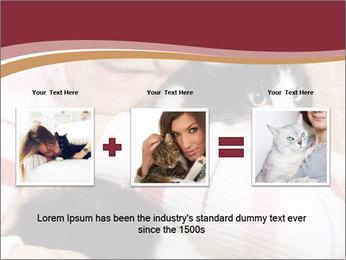 Grandmama Hugs Cat PowerPoint Template - Slide 22