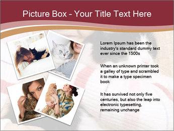 Grandmama Hugs Cat PowerPoint Template - Slide 23