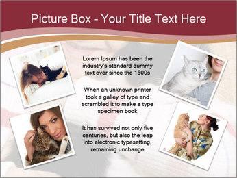 Grandmama Hugs Cat PowerPoint Template - Slide 24