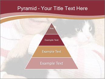Grandmama Hugs Cat PowerPoint Template - Slide 30