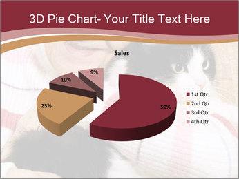 Grandmama Hugs Cat PowerPoint Template - Slide 35