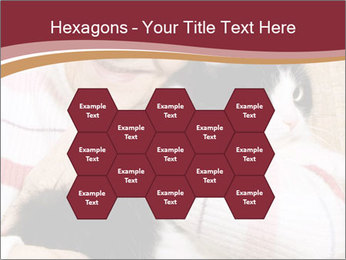 Grandmama Hugs Cat PowerPoint Template - Slide 44