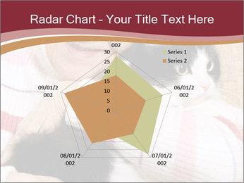 Grandmama Hugs Cat PowerPoint Template - Slide 51
