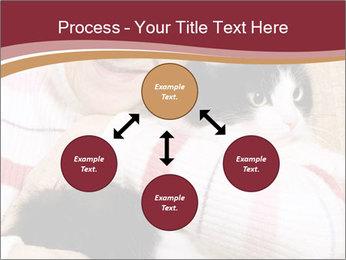 Grandmama Hugs Cat PowerPoint Template - Slide 91