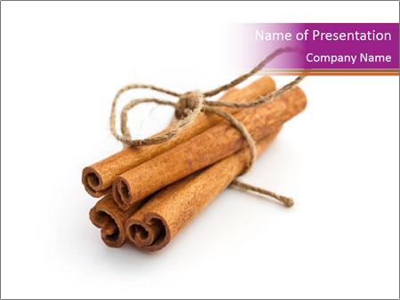 Cinnamon Spice PowerPoint Templates