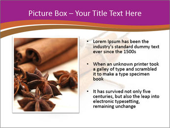 Cinnamon Spice PowerPoint Template - Slide 13