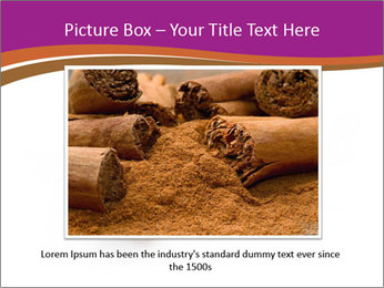 Cinnamon Spice PowerPoint Template - Slide 15