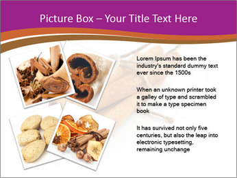 Cinnamon Spice PowerPoint Template - Slide 23