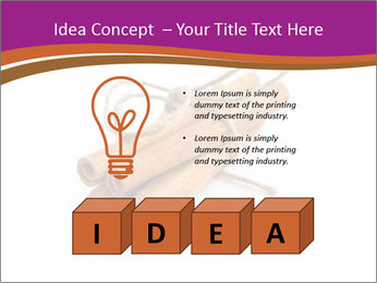 Cinnamon Spice PowerPoint Template - Slide 80