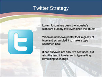 Themes River During Sunset PowerPoint Template - Slide 9