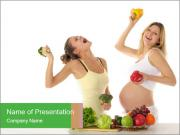Diet During Pregnancy PowerPoint Templates