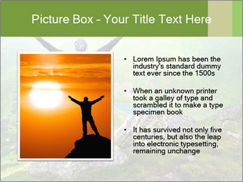 Man With Free Spirit PowerPoint Template - Slide 13