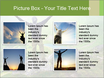 Man With Free Spirit PowerPoint Template - Slide 14
