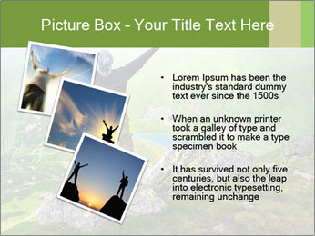 Man With Free Spirit PowerPoint Template - Slide 17