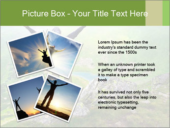 Man With Free Spirit PowerPoint Template - Slide 23