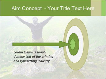 Man With Free Spirit PowerPoint Template - Slide 83