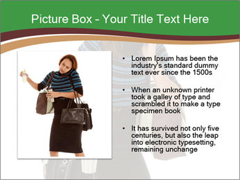 Stressed Businesswoman PowerPoint Templates - Slide 13