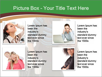 Stressed Businesswoman PowerPoint Templates - Slide 14