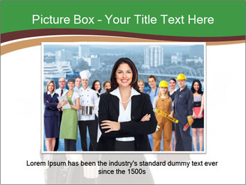 Stressed Businesswoman PowerPoint Templates - Slide 15