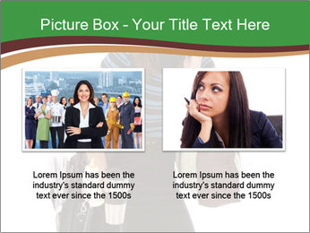 Stressed Businesswoman PowerPoint Templates - Slide 18
