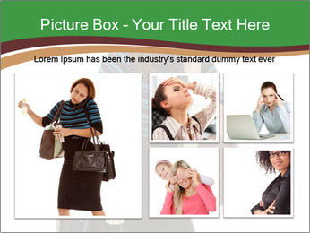 Stressed Businesswoman PowerPoint Templates - Slide 19