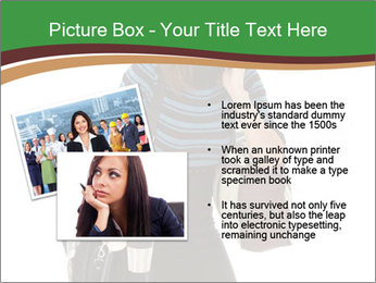 Stressed Businesswoman PowerPoint Templates - Slide 20