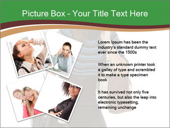 Stressed Businesswoman PowerPoint Templates - Slide 23