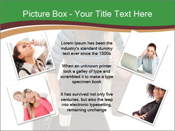 Stressed Businesswoman PowerPoint Templates - Slide 24