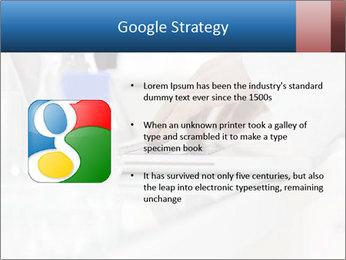 Man Typing On White Laptop PowerPoint Templates - Slide 10
