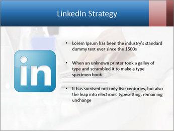 Man Typing On White Laptop PowerPoint Templates - Slide 12