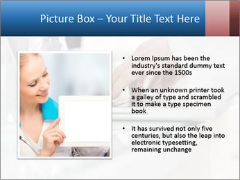 Man Typing On White Laptop PowerPoint Template - Slide 13