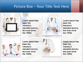 Man Typing On White Laptop PowerPoint Template - Slide 14