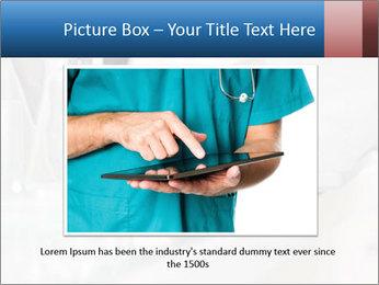 Man Typing On White Laptop PowerPoint Templates - Slide 16