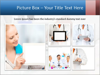 Man Typing On White Laptop PowerPoint Template - Slide 19