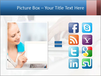 Man Typing On White Laptop PowerPoint Template - Slide 21