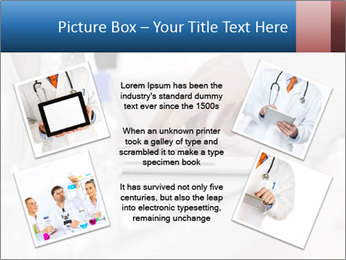 Man Typing On White Laptop PowerPoint Template - Slide 24