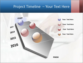 Man Typing On White Laptop PowerPoint Template - Slide 26