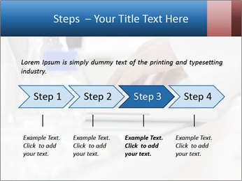 Man Typing On White Laptop PowerPoint Template - Slide 4