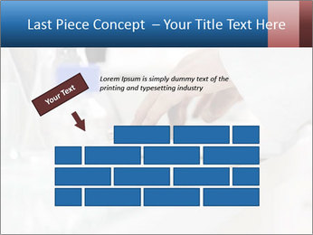 Man Typing On White Laptop PowerPoint Template - Slide 46
